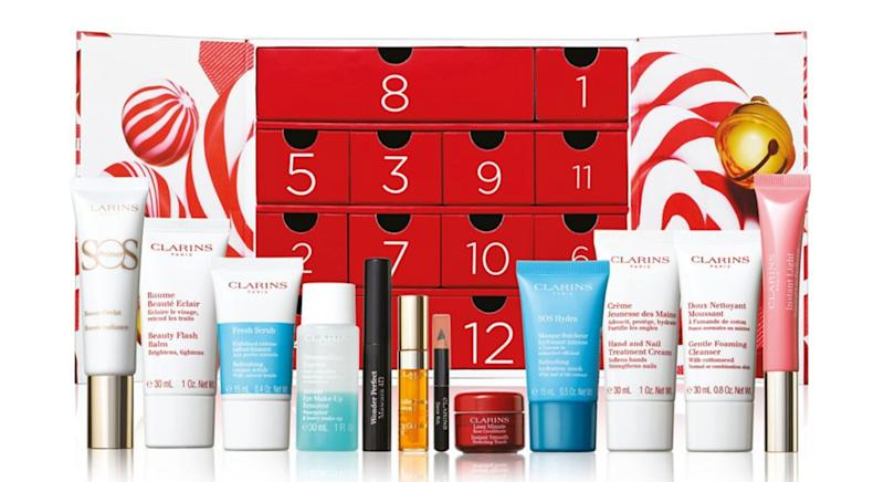 Clarins Women 12 Day Christmas Calendar