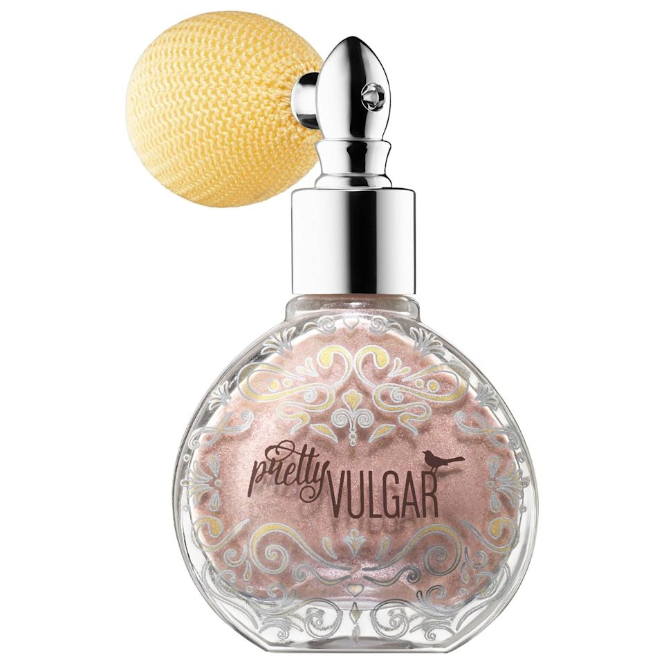 <p>Top your finished hairstyle with the rose-gold shimmer in this <span>Pretty Vulgar Glitter Dust All-Over Glitter Powder Spray</span> ($32) and, poof, you'll have instant glam. There's no applicator or blending needed, so using this is as easy as spritzing on some perfume.</p>