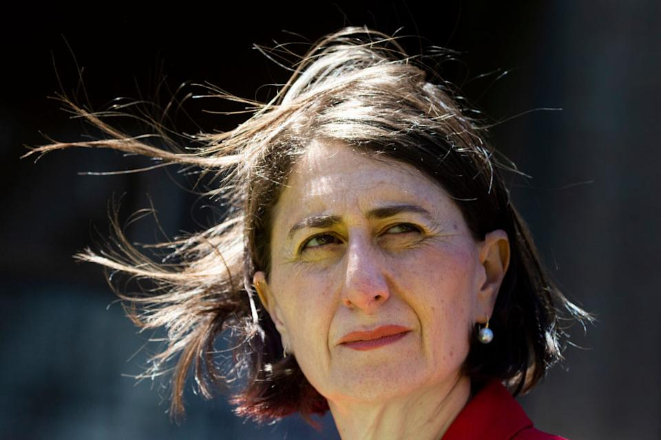 Premier Gladys Berejiklian defended her approach to the pandemic. Source: Getty