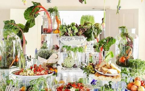 Kalm Kitchen's creative displays are a treat for the eyes as well as the tastebuds - Credit: VLA Photography and Hannah Berry Flowers/Kalm Kitchen