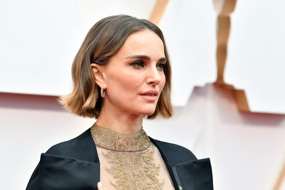 "Natalie Portman adds her voice to the movement to defund the police, saying ""the system that makes me feel comfortable is wrong."" (Photo: Amy Sussman via Getty Images)"