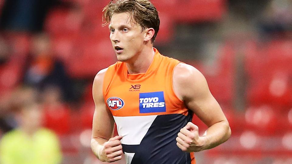 Lachie Whitfield, pictured here in action for GWS Giants.