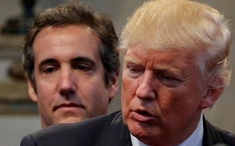 Michael Cohen once said he would take a bullet for his client Donald Trump - REUTERS
