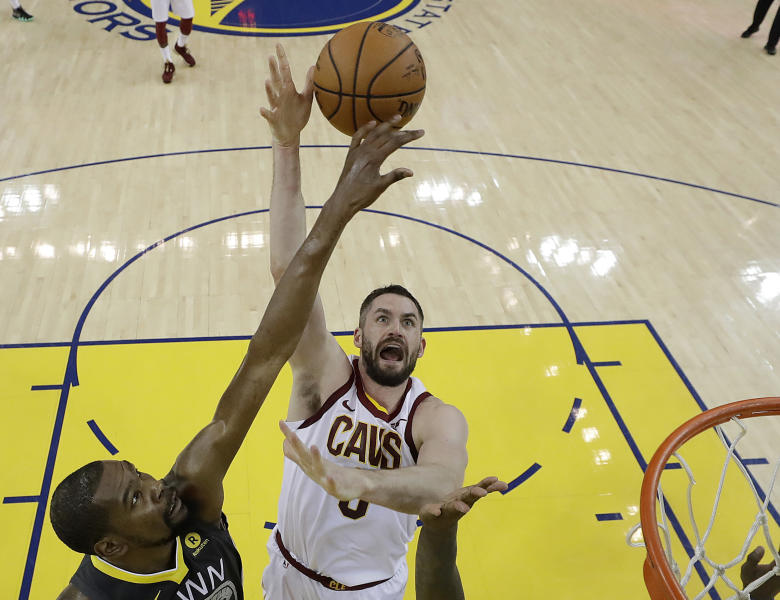Cavs sign Kevin Love to 4-year, $120 million contract