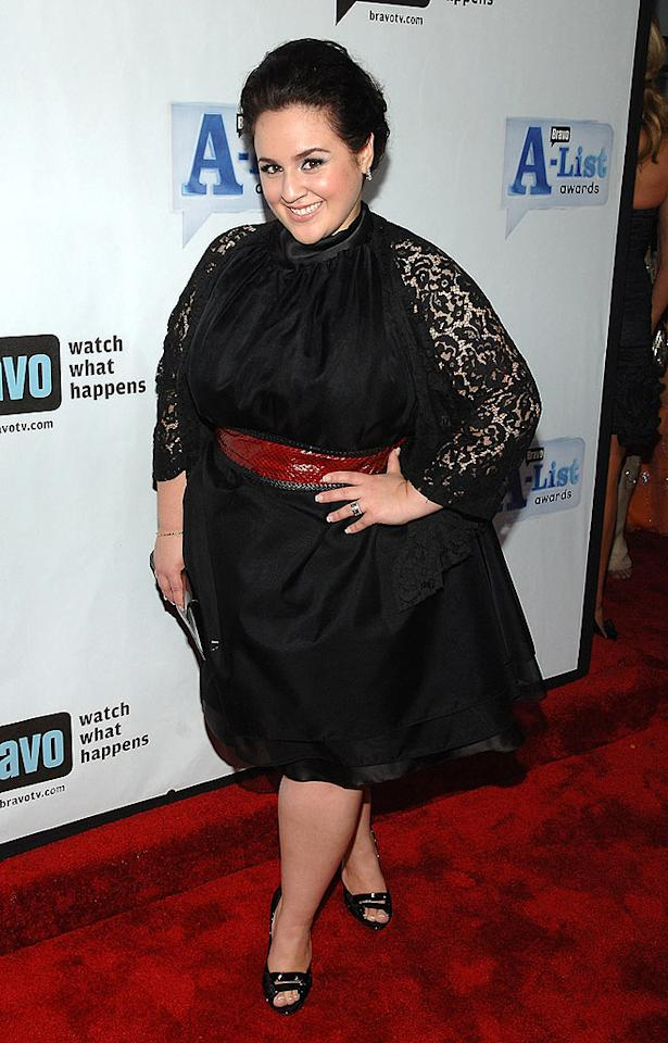 """Hairspray"" star Nikki Blonsky is classy in a fifties-inspired frock and lace cover-up. Jamie McCarthy/<a href=""http://www.wireimage.com"" target=""new"">WireImage.com</a> - June 4, 2008"