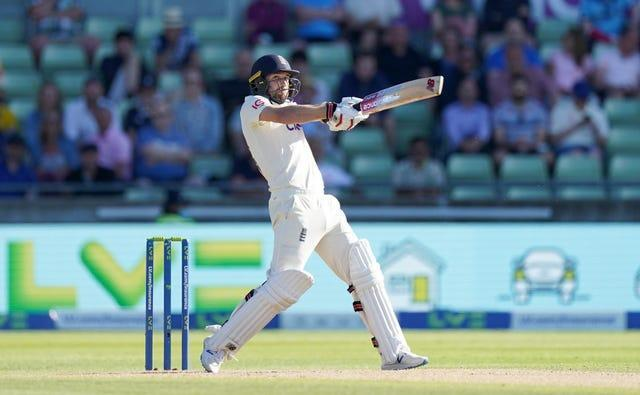 Mark Wood fought back for the hosts