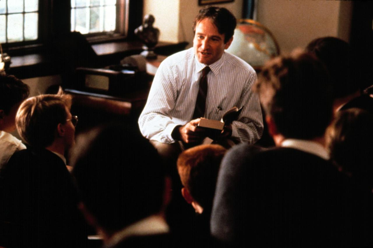 <strong>Why you want to watch it this fall:</strong> Yes, back to school season is technically in September, and the all boys school academic chic look works for all seasons, but it's also just always a good time to watch the young men of the <em>Dead Poets Society</em> learn the true meaning behind a Walt Whitman poem. <strong>Where to watch it:</strong> YouTube