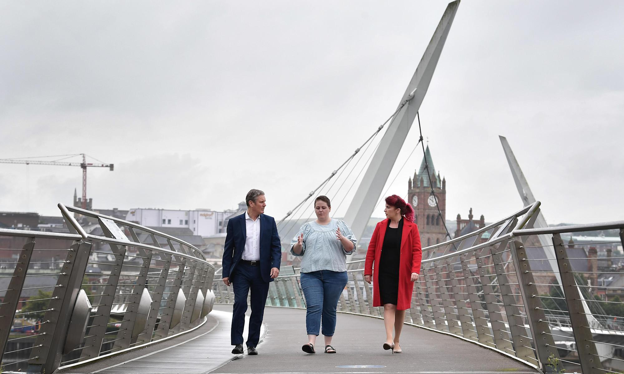 Post-Brexit situation in Northern Ireland is fragile, says Starmer