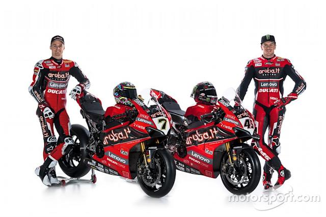 "Scott Redding, Aruba.it Racing Ducati, Chaz Davies, Aruba.it Racing Ducati <span class=""copyright"">Aruba.it Racing</span>"