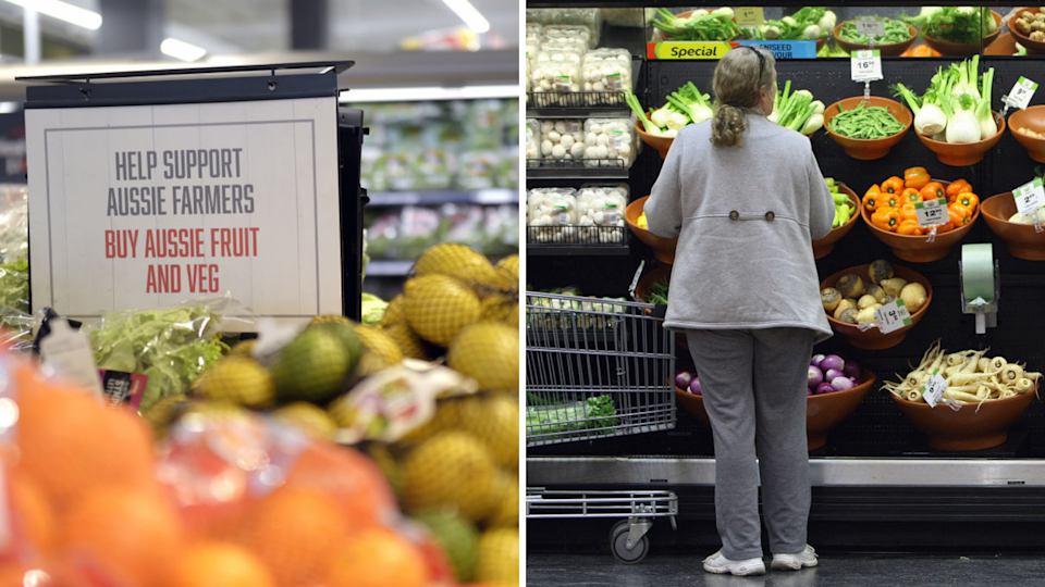 Shoppers can expect to pay more for their grocery bills. (Source: Getty)