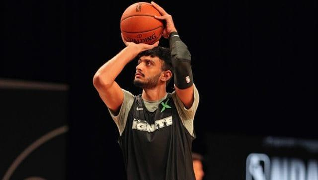 Princepal Singh played four games for the G League Ignite this past season. (NBAE/Getty Images)