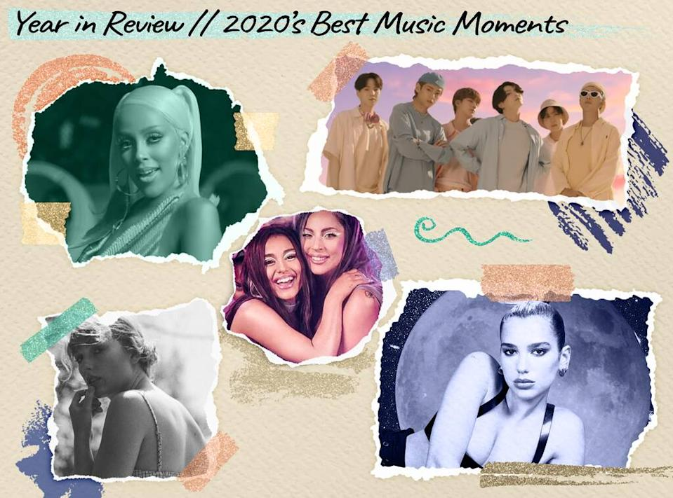 Year in Review, 2020's Best Music Moments Poll