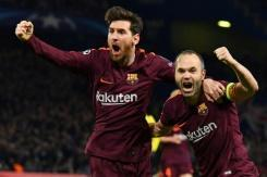 <p>Messi ends Chelsea drought to give Barcelona last-16 edge</p>