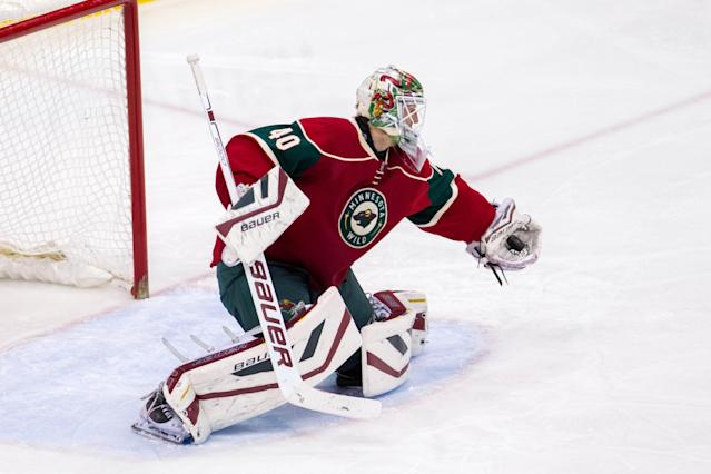 Was Devan Dubnyk the answer for the Wild?