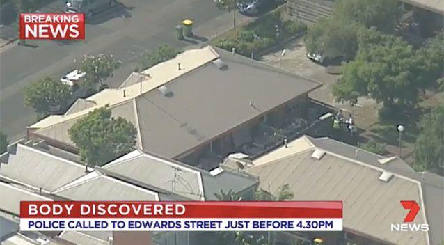 The home has been cordoned off by police. Source: 7 News