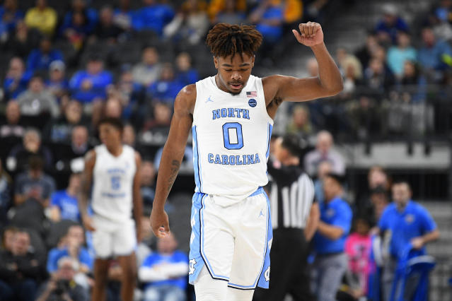 After going down on Monday, UNC freshman Anthony Harris is set to undergo surgery to repair his torn ACL and will miss the rest of the year. (Brian Rothmuller/Icon Sportswire/Getty Images)