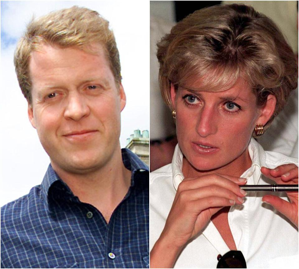 Charles Spencer and Princess Diana (Photo: Reuters/PA)