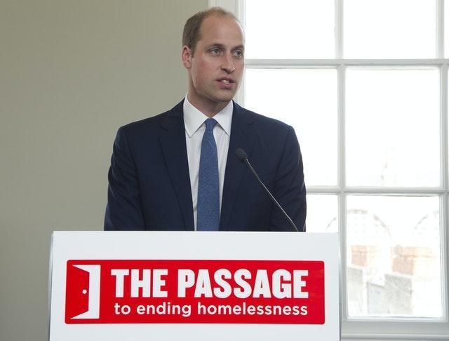 William has made a number of private visits to the homeless charity. Eamonn M. McCormack/PA Wire
