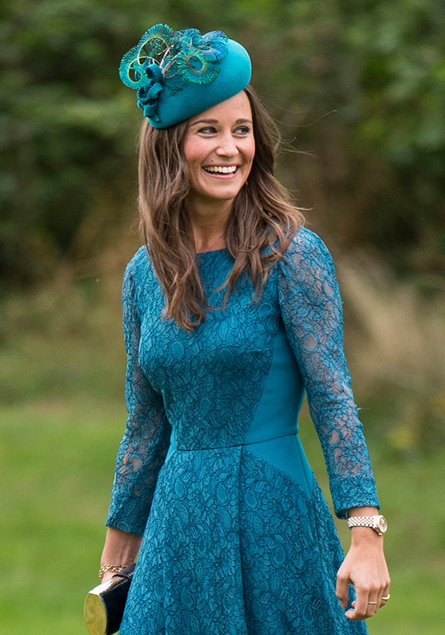 Pippa famously 'banned' Vogue from her wedding because she enforced a 'no ring, no bring' policy. Photo: Getty