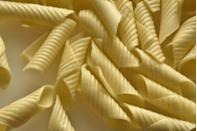 <p><strong>Category: </strong>Tubular pasta<br><strong>Pronunciation: </strong>Gar-guh-nay-lee<br><strong>Literal meaning: </strong>This name derives from the Latin gargala, meaning trachea.<br><strong>Typical pasta cooking time: </strong>8-10 minutes</p>