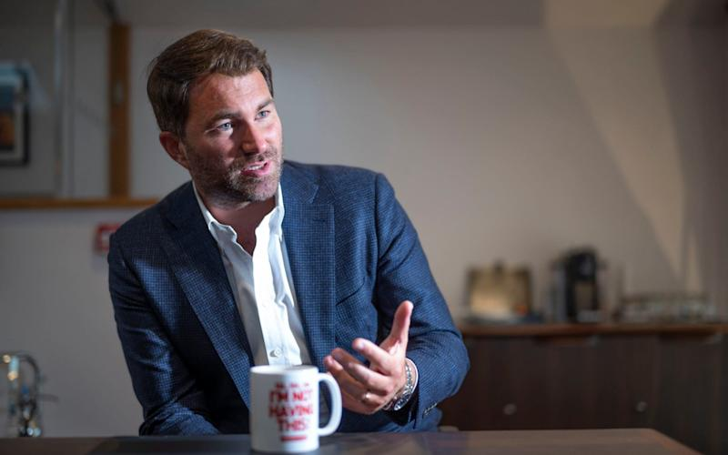 Eddie Hearn portrait - David Rose for The Telegraph
