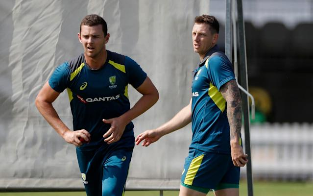 Australia will turn to Josh Hazlewood to replace the rested James Pattinson at Lord's for the second Ashes Test - Getty Images Europe
