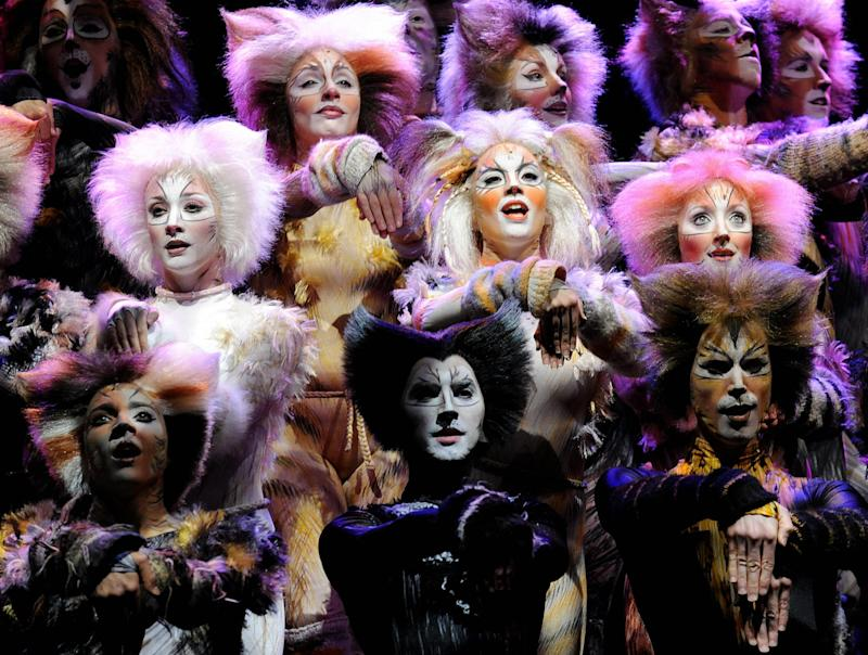 Cats being performed in Hong Kong: AFP/Getty Images