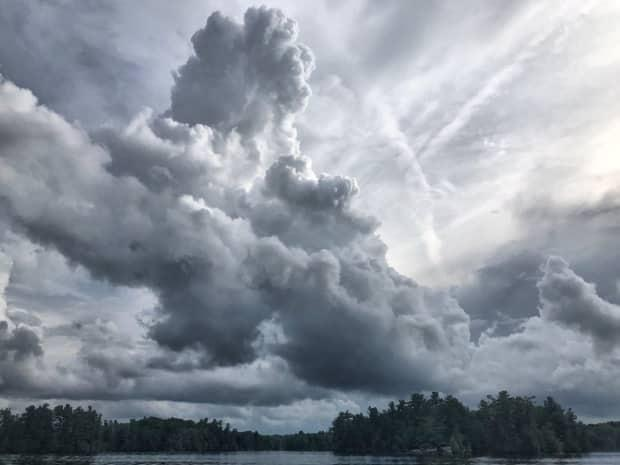 A tornado warning has ended for the Kaladar, Ont., area. (Ian Black/CBC - image credit)