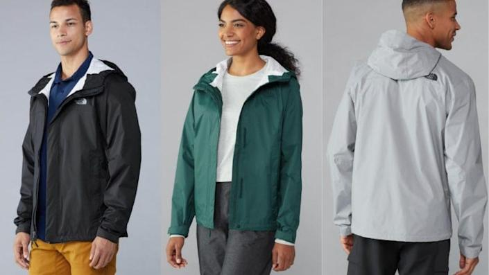 You can't travel outdoors without a rain jacket.