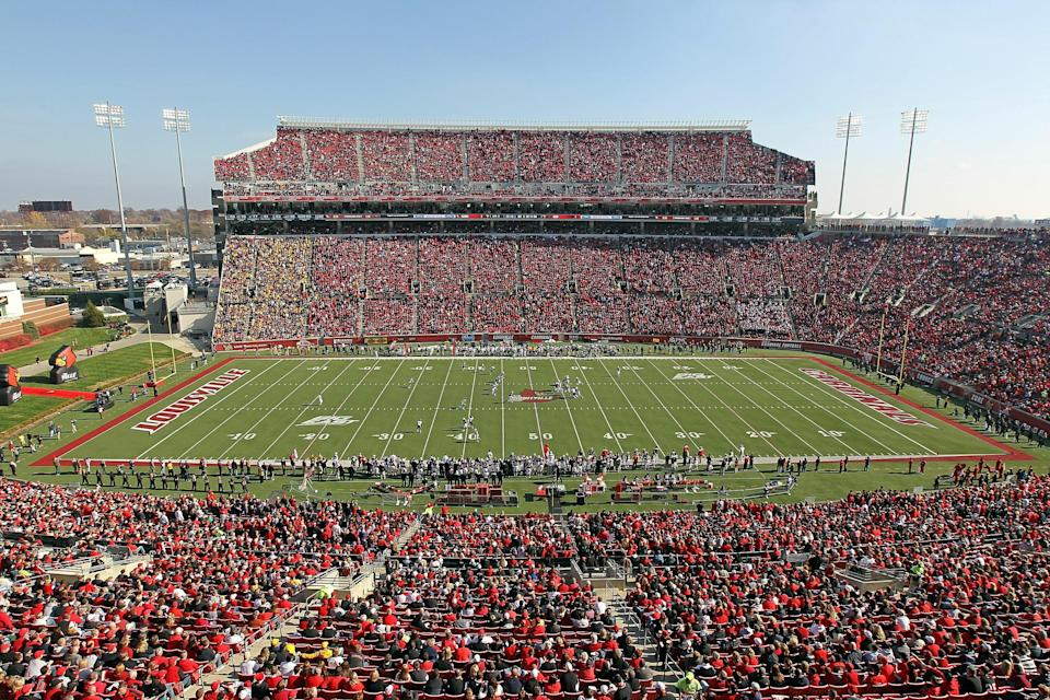 It's now simply Cardinal Stadium (Photo by Andy Lyons/Gettgetty Images)