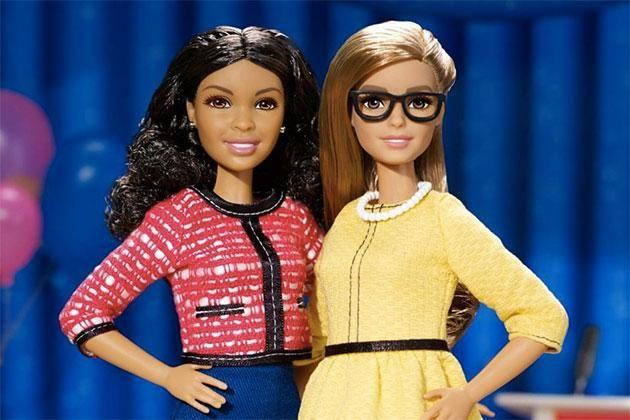 The new Barbies. Photo: Twitter