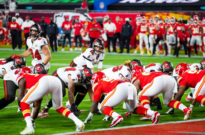FILE PHOTO: NFL: Super Bowl LV-Kansas City Chiefs vs Tampa Bay Buccaneers