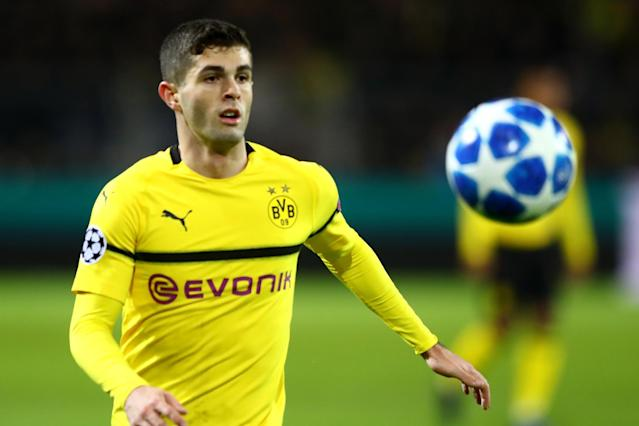 How much will Christian Pulisic play for Borussia Dortmund against Tottenham Hotspur? (Evening Standard)
