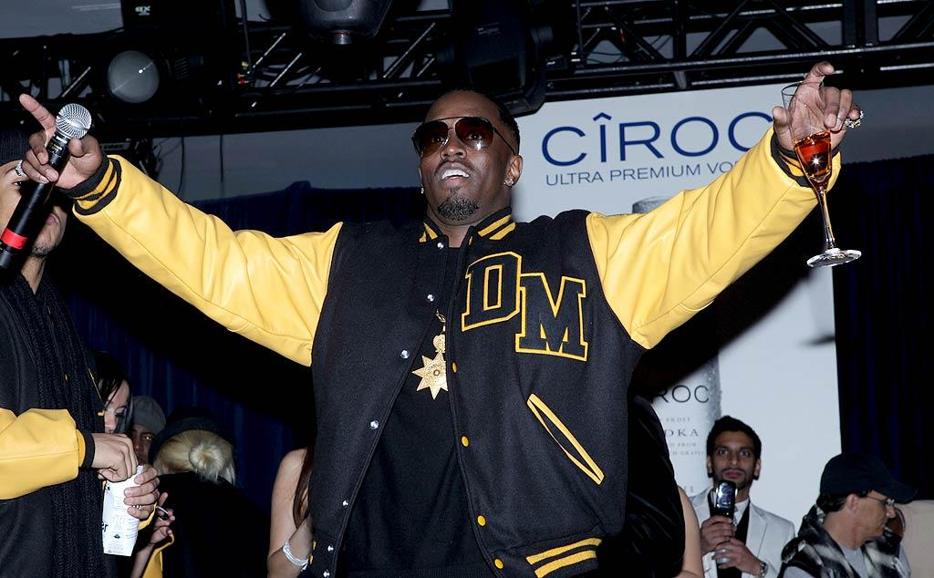 """P.Diddy performed for 45 minutes at his own shindig. """"Whether it's Super Bowl, NBA All-Star Game or a big money fight, I will always have a big party,"""" the singer/actor/mogul told ESPN. """"We are known for our parties and I just want people to have a good time and make you dance."""" Tiffany Rose/<a href=""""http://www.gettyimages.com/"""" target=""""new"""">GettyImages.com</a> - February 5, 2011"""
