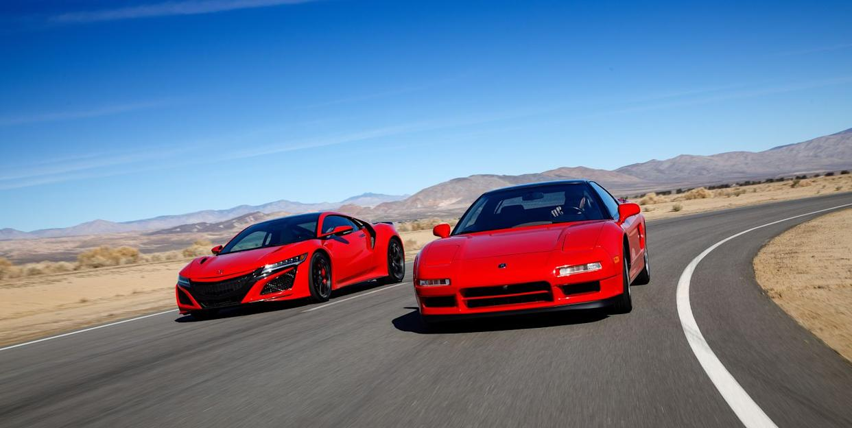 Red Car Game >> The Acura Nsx Revolutionized The Sports Car Game When It Appeared 30