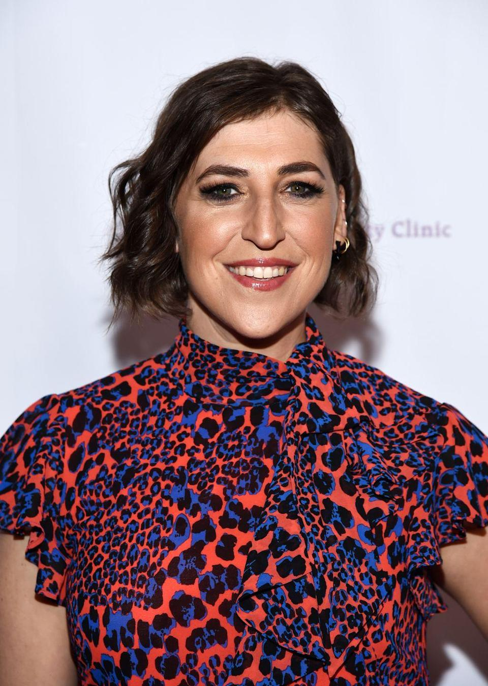 <p><em>Big Bang Theory</em> fans may know her best as Amy Farrah Fowler, but sometime this year, <em>Jeopardy</em>! fans will welcome her as the temporary host of the trivia show. Meanwhile, the actress will continue to star in her new Fox sitcom, <em>Call Me Kat</em>.</p>