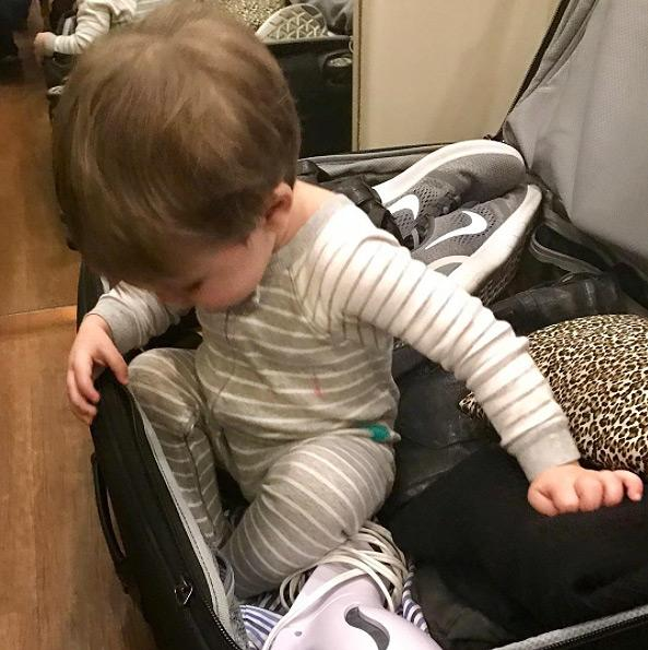 "<p>Isaiah may not have made it to New Zealand with his famous mom, but he sure did try — as evidenced <a rel=""nofollow"" href=""https://www.instagram.com/p/BNcyCoMDDCb/"">by this cute snap</a>.</p>"