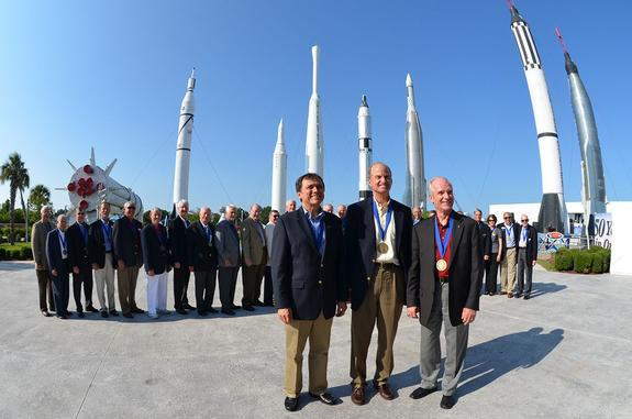 Hall of Fame Space Shuttle Astronauts Humbled by Heroes' Welcome