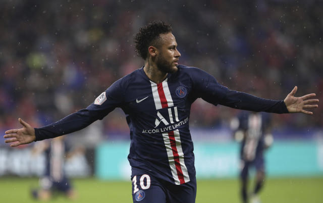 Neymar came to PSG's rescue for the second week running. (AP)