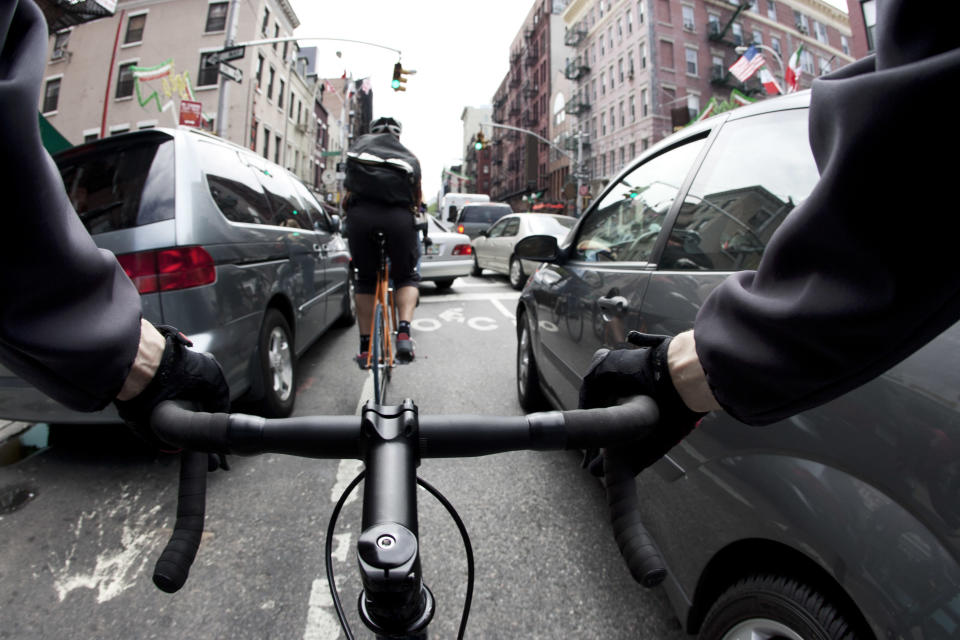 Bicycle Network CEO Craig Richards said pay-to-ride tax schemes were already running in Italy, The Netherlands and the UK. Source: Getty Images