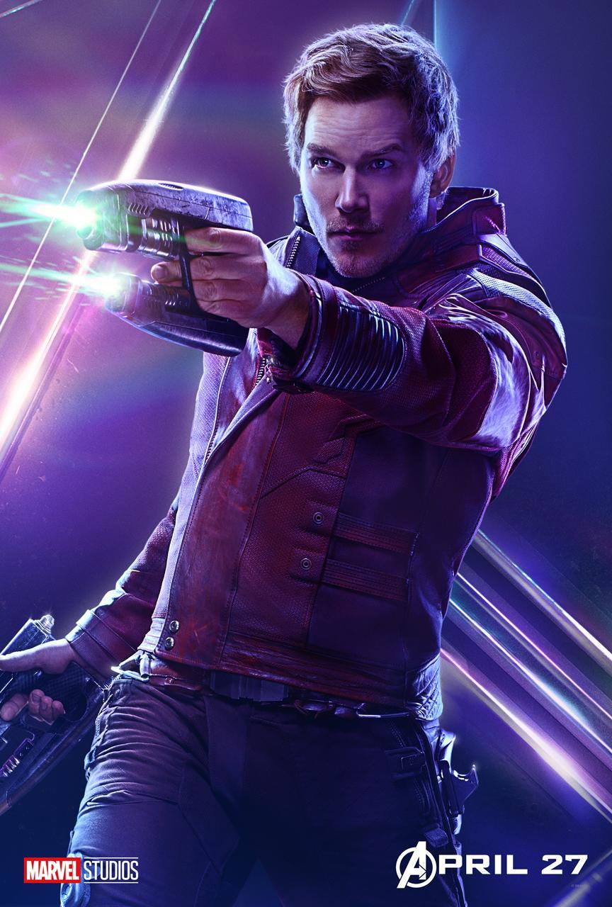 <p>Chris Pratt's Earth expat Peter Quill now must join the fight to save his birth planet. (Photo: Marvel Studios) </p>