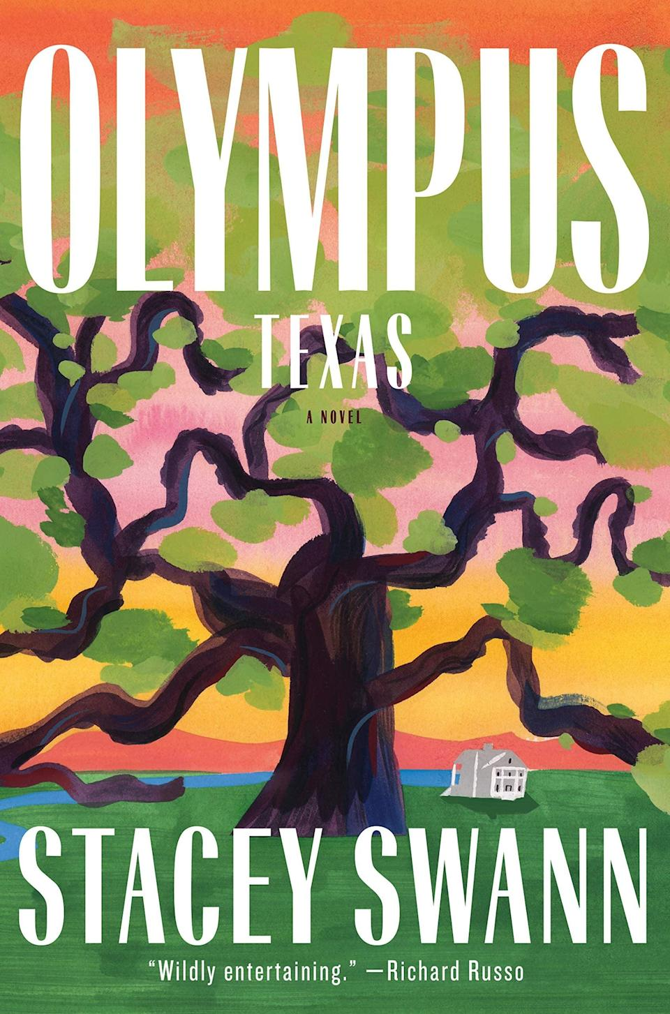 <p>At once a story rooted in classical mythology and a good old-fashioned family drama, <span><strong>Olympus, Texas</strong></span> by Stacey Swann is an epic story about a prodigal son's return - and the havoc he wreaks on his family. Two years after it was discovered he was having an affair with his brother's wife, March returns home, and it's a mere matter of days before the Briscoe family's lives are completely upended by marital woes and at least one dead body. </p> <p><em>Out May 4</em></p>