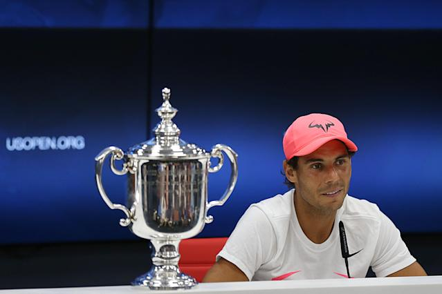 Nadal won the men's singles final at the US Open last year. (Photo: Getty Images)