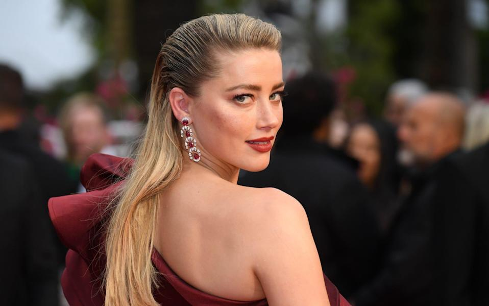 """Oppressive"": journalist Leaf Arbuthnot did not enjoy her interview with Johnny Depp's ex-wife and actress Amber Heard - Stephane Cardinale - Corbis"