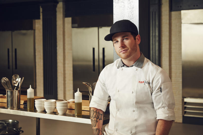 Former Top Chef contestant Aaron Grissom
