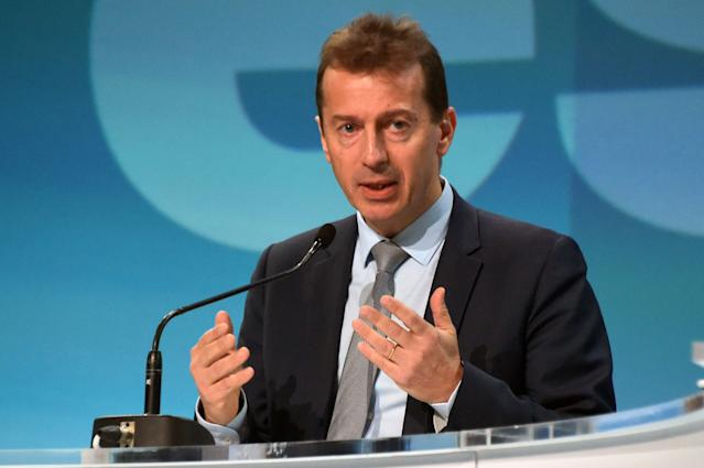 Guillaume Faury, Airbus chief executive officer. Photo: Pascal Pavan/AFP via Getty