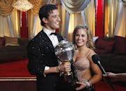 <p>File this under unsurprising <em>DWTS</em> wins: In 2009, this Olympic gymnast took home the gold. She also went on to compete in season 15 <em>All-Stars</em>.</p>
