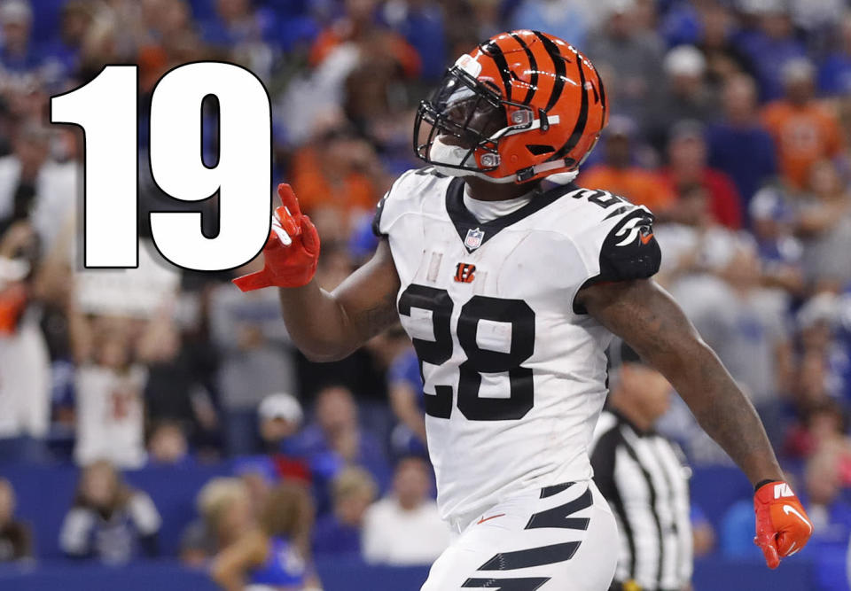 <p>Joe Mixon looks like the player a lot of people felt was a top-10 talent, even though he slipped to the second round because he punched a woman at Oklahoma. (Joe Mixon) </p>