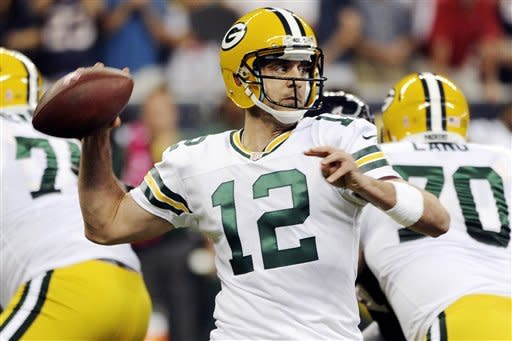 Packers lead Texans 28-17 after 3