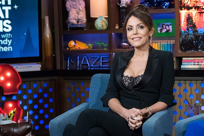 WATCH WHAT HAPPENS LIVE WITH ANDY COHEN -- Pictured: Bethenny Frankel -- (Photo by: Charles Sykes/Bravo/NBCU Photo Bank via Getty Images)